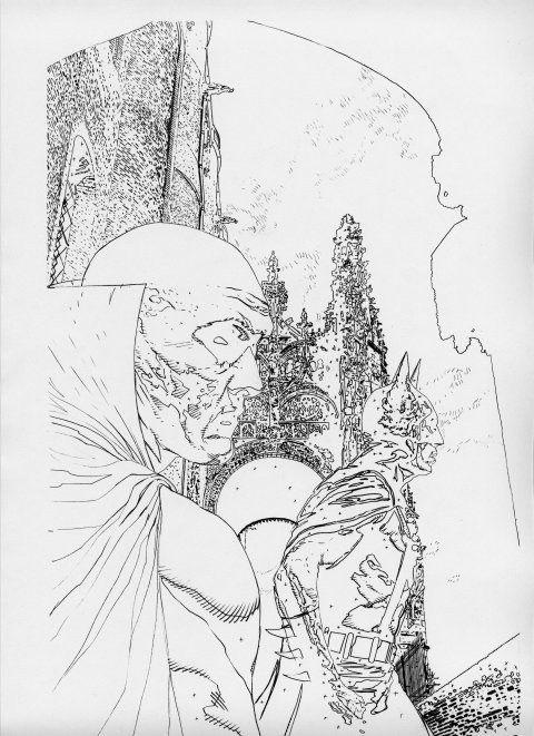 JLA: Black Batism vol 1 #2 - okładka