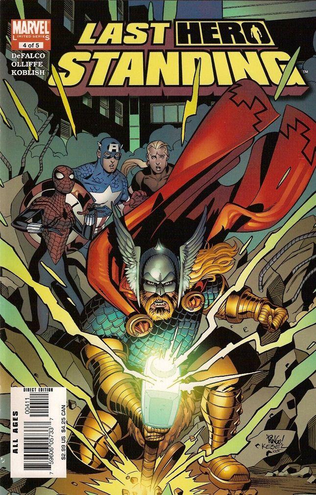 Last Hero Standing vol 1 #4/12 czarno-biały