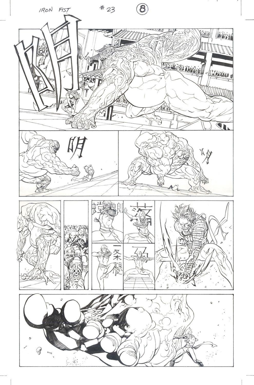 Iron Fist #23 / 8