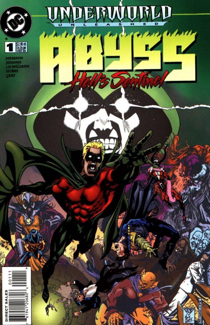 Underworld Unleashed: Abyss-Hell's Sentinel Vol 1 #1 / 1 czarno-biały