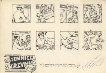 Tajemnicza skrzynka (kompletny 10-stronicowy komiks)