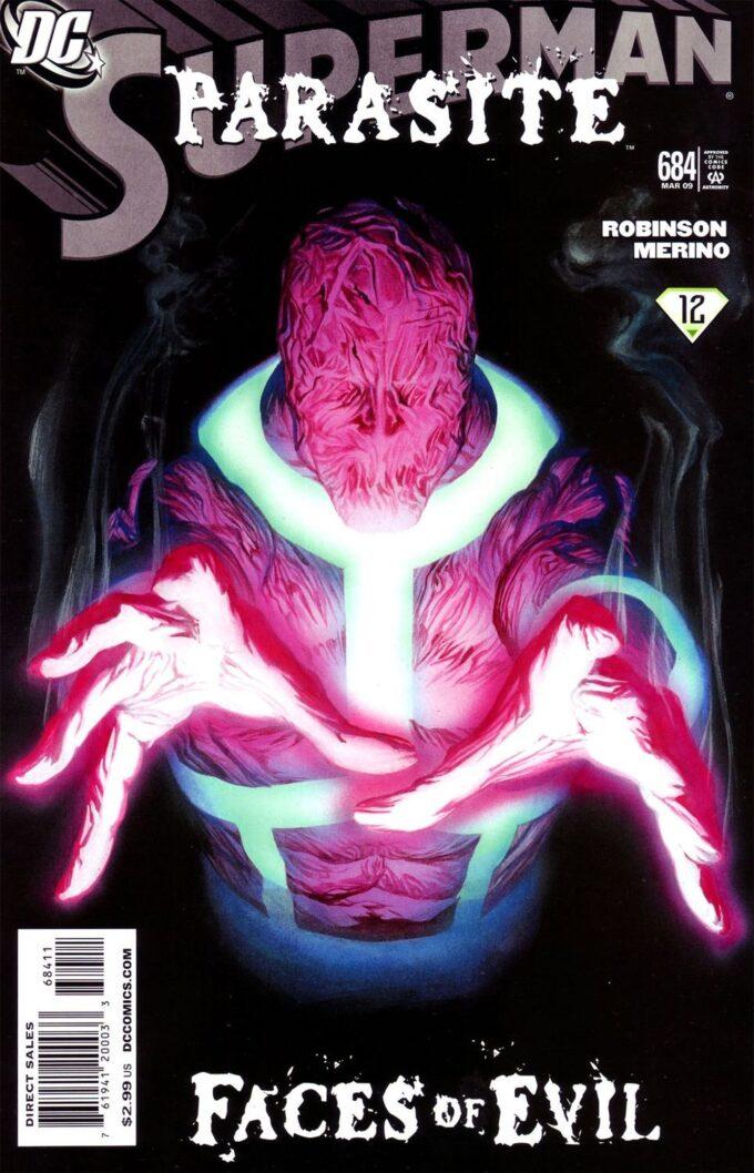 Superman #684 / 8 czarno-biały
