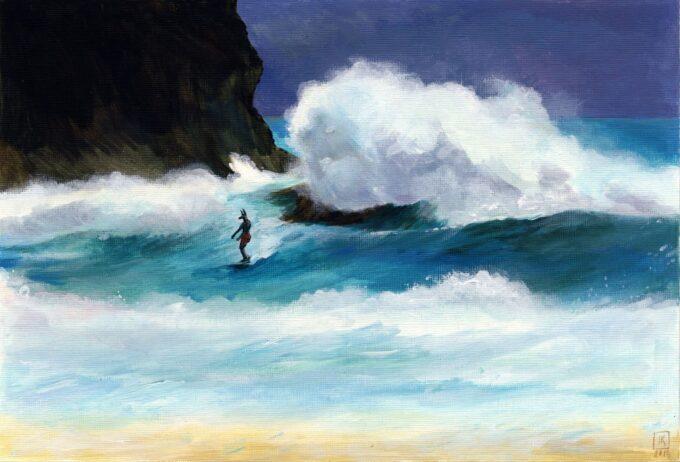 Anubis Surfer