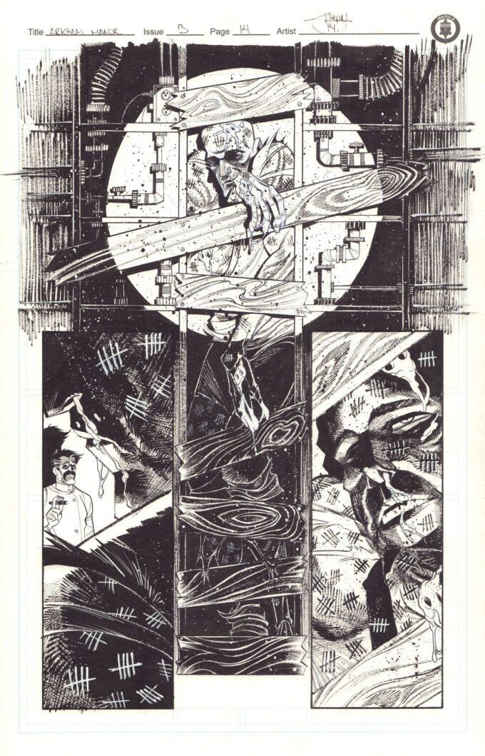 Kwiaty Zła (kolekcja plansz) DC Comics