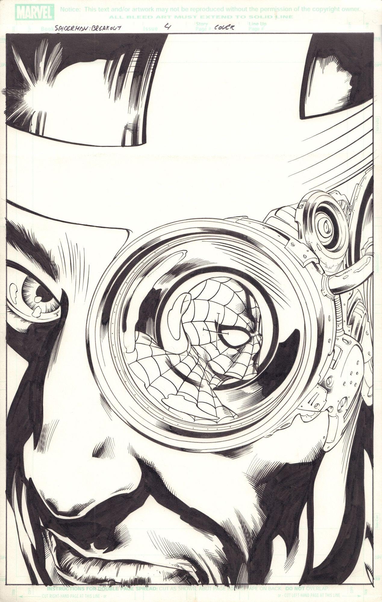 Spider-man: Breakout #4 - okładka