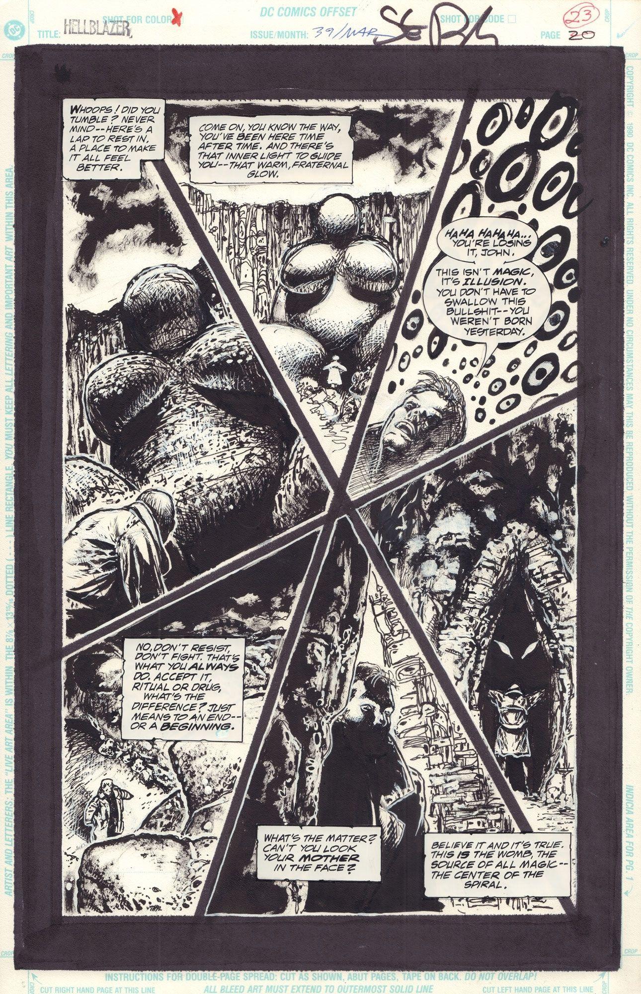 Hellblazer #39 / 20