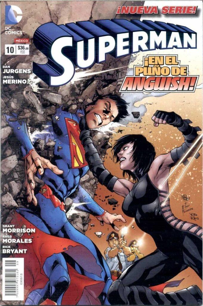 Superman vol. 3 #10 / 15 czarno-biały