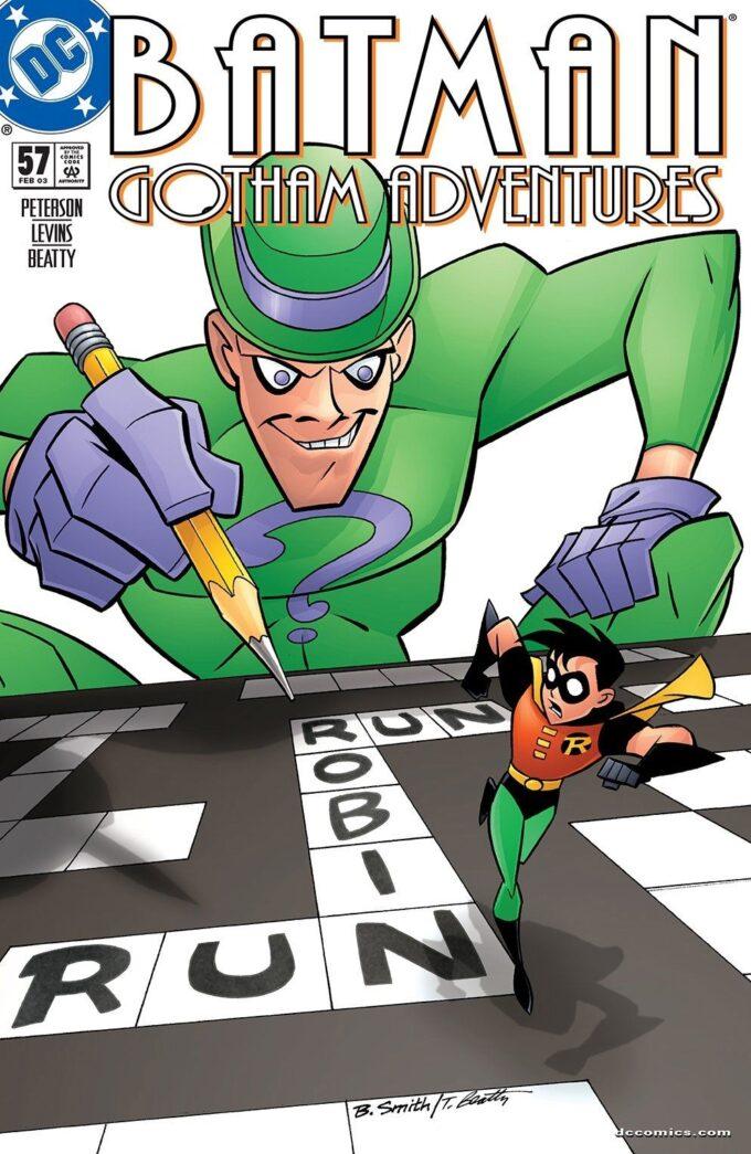 Batman: Gotham Adventures #57 / 1 czarno-biały