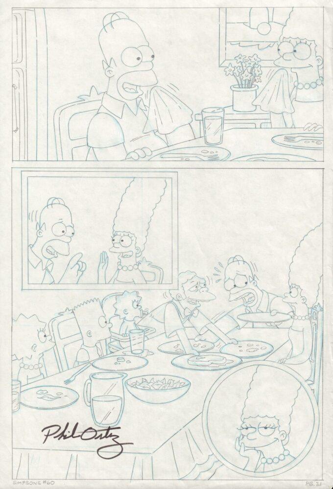 Simpsons Comics #60 / 21