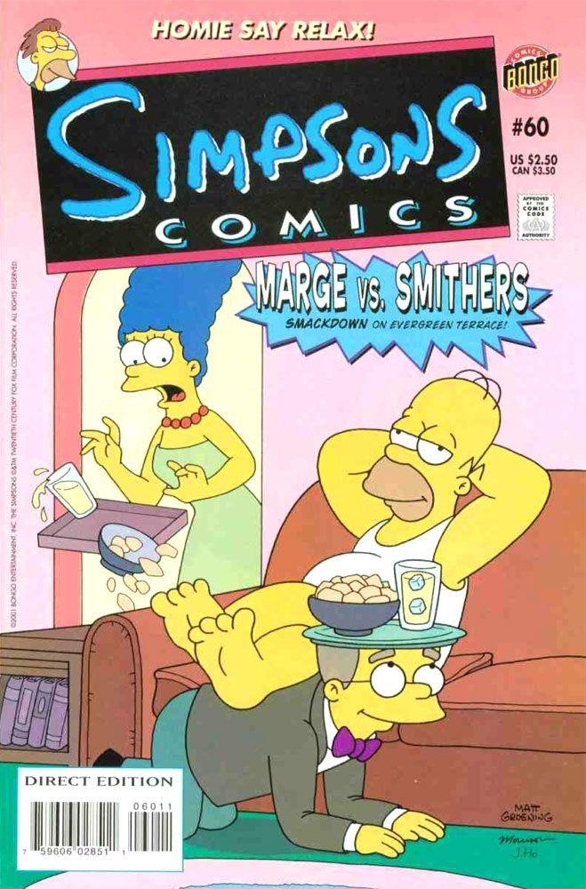 Simpsons Comics #60 / 21 czarno-biały