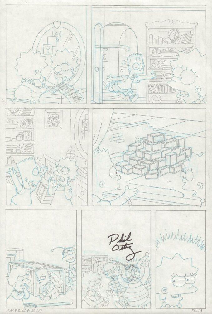 Simpsons Comics #67 / 9