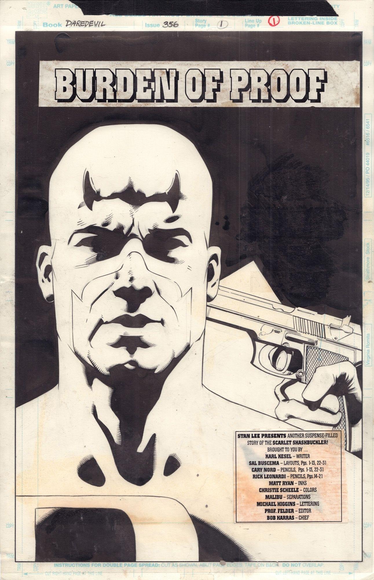 Daredevil #356 / 1