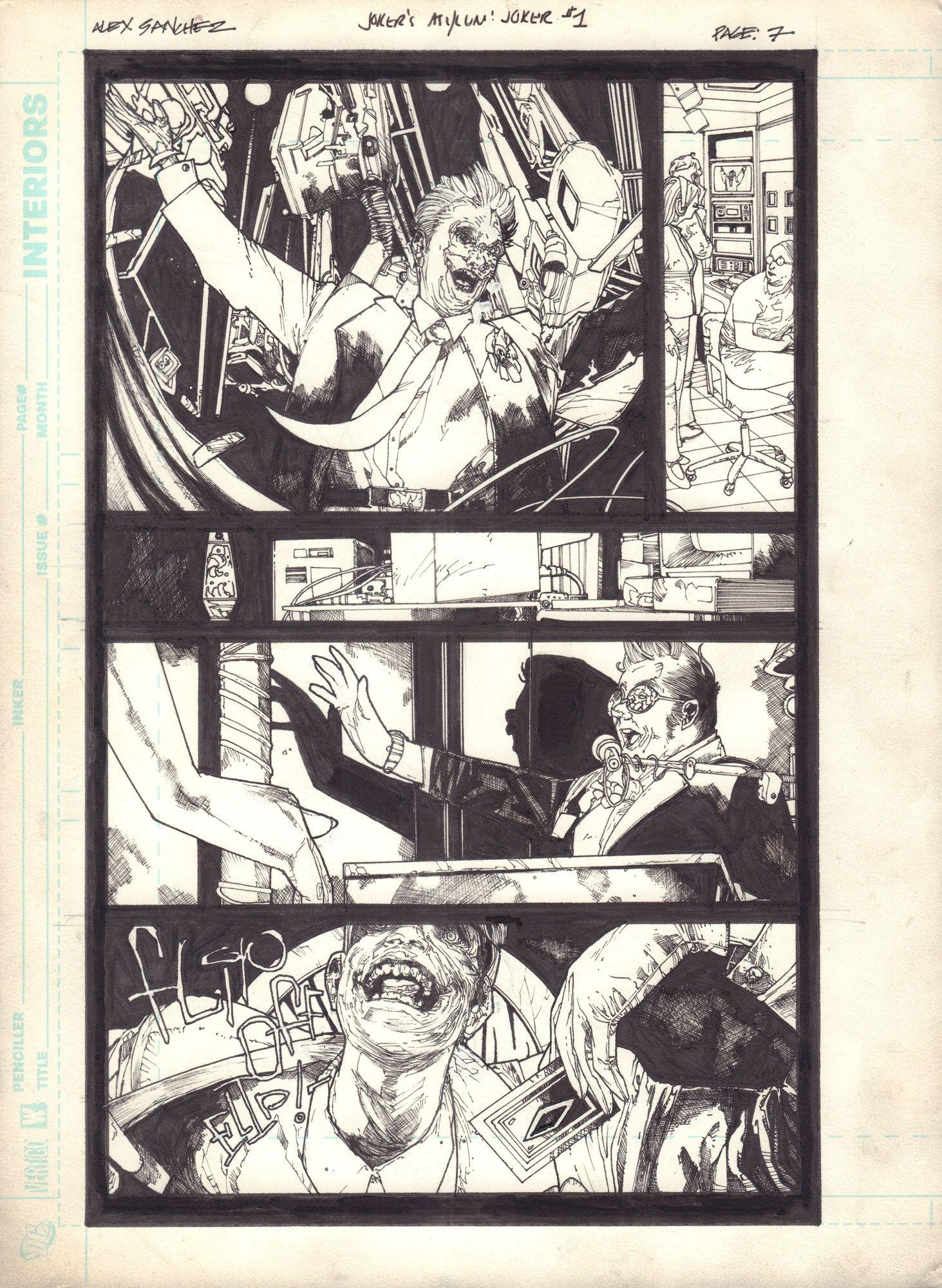 Joker's Asylum: The Joker, s. 7