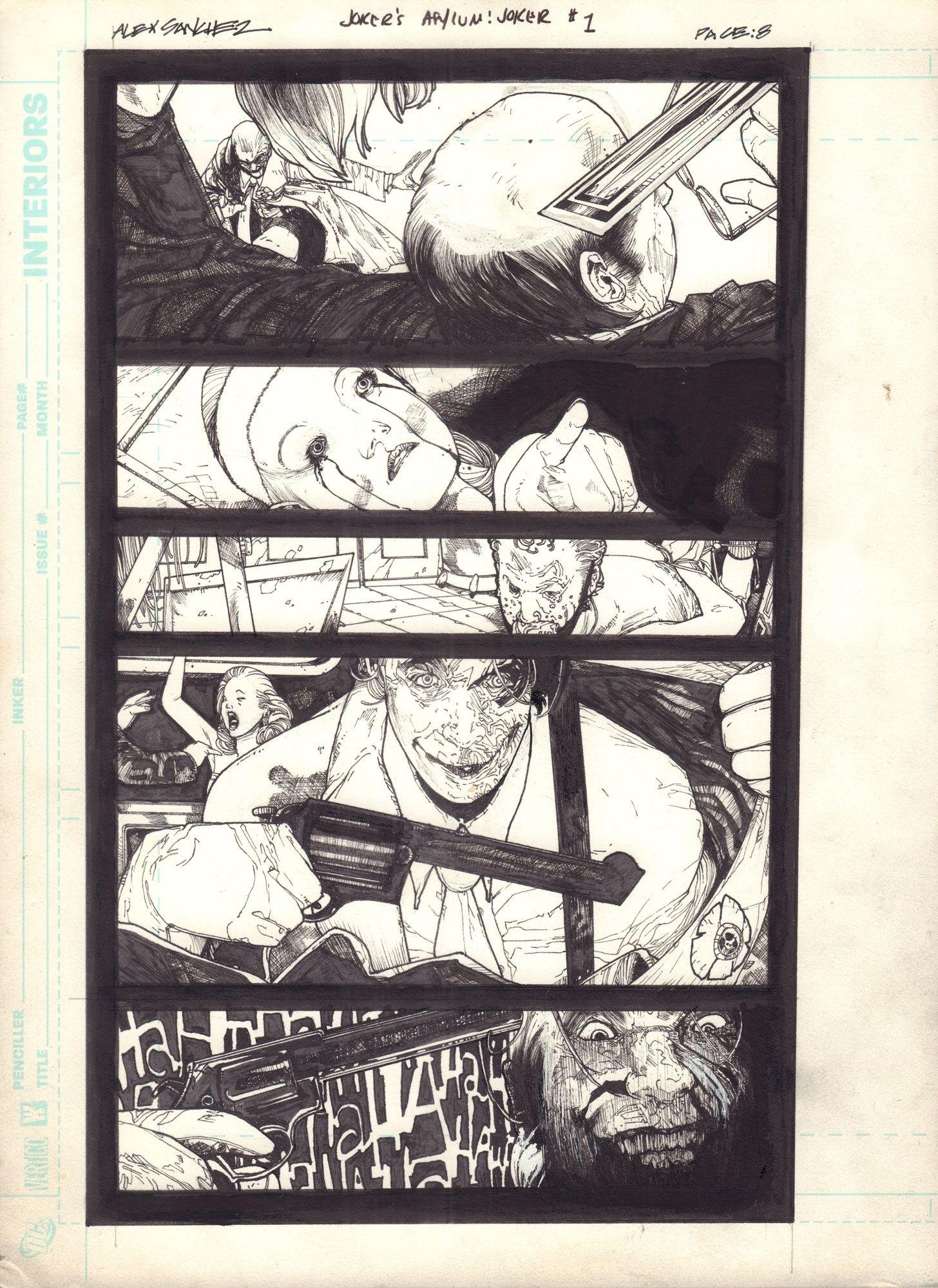 Joker's Asylum: The Joker, s. 8