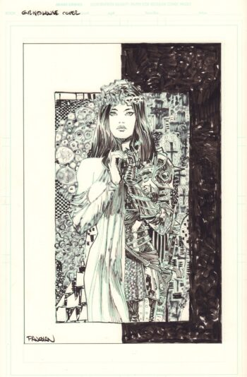 Grindhouse: Doors Open At Midnight #6 - okładka