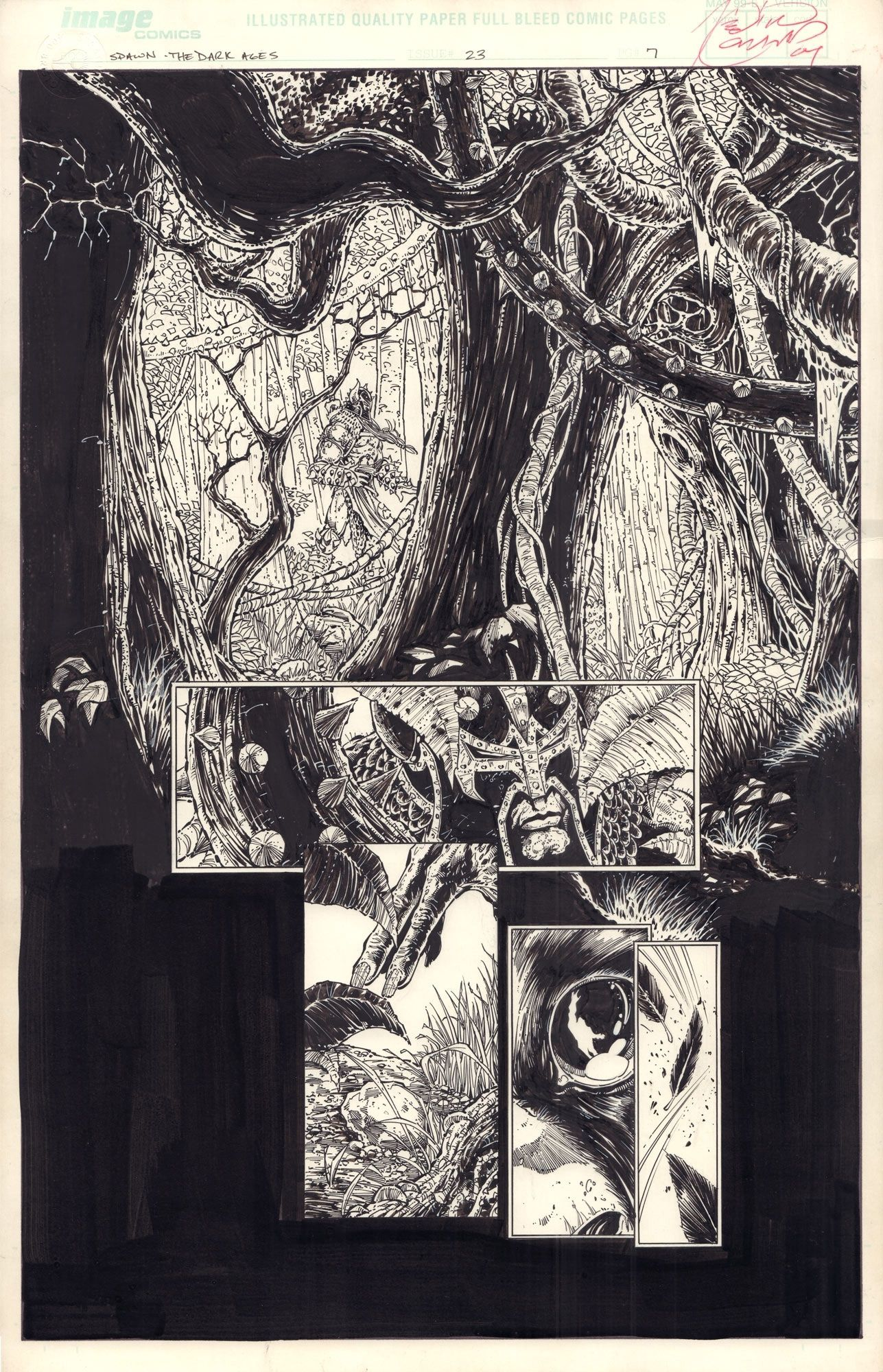 Spawn: The Dark Ages #23 / 7