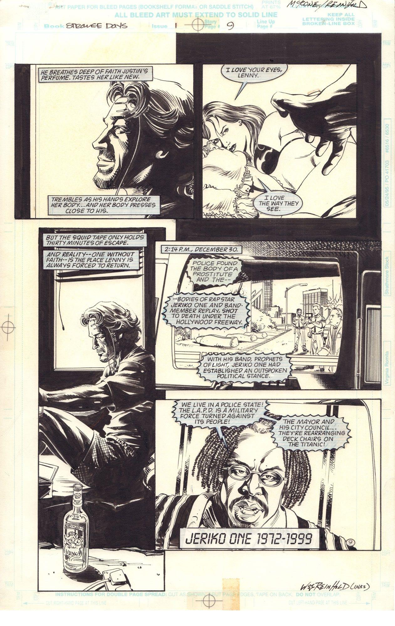 Strange Days: Movie Adaptation, s. 9