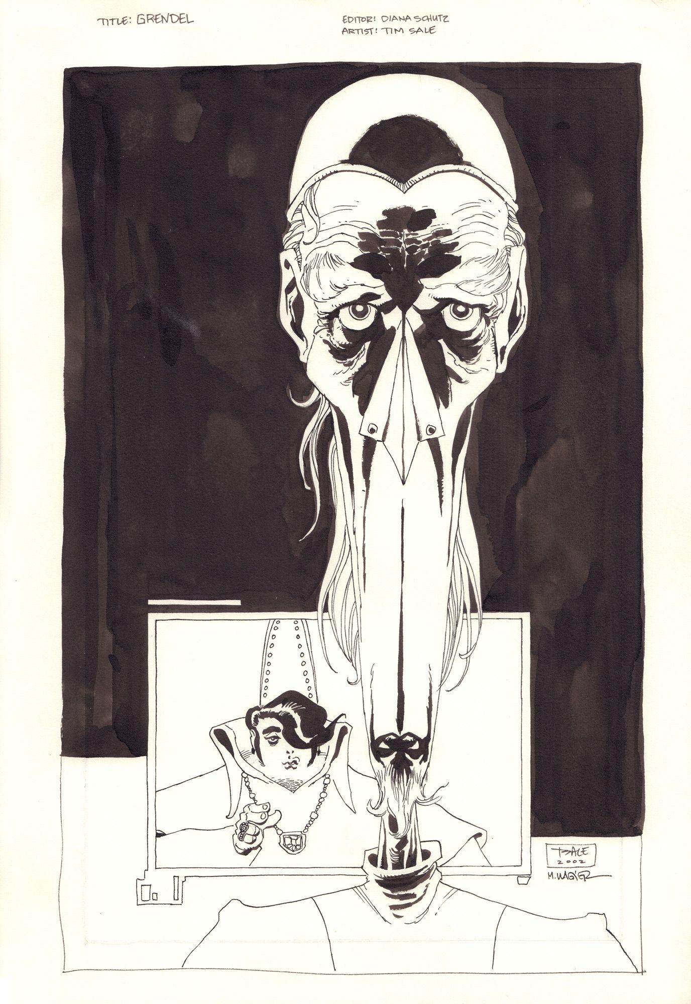 Grendel: Behold the Devil #0 - okładka B