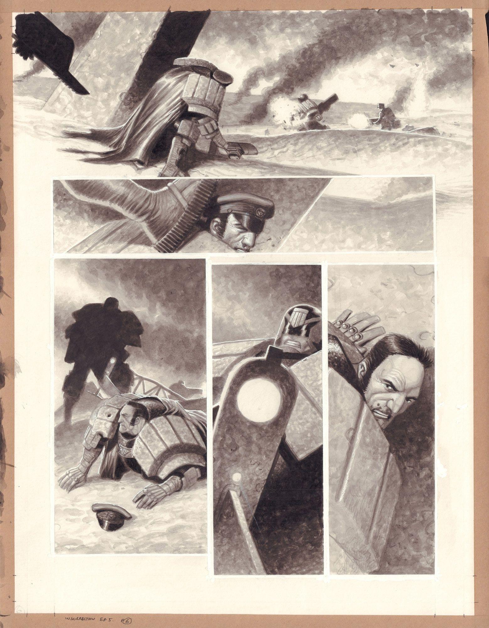 Judge Dredd: Insurrection 5, s. 6