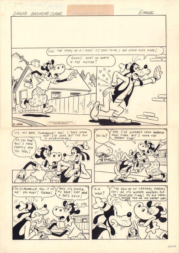 Goofy & Mickey Mouse: Backache Cures (komplet plansz)