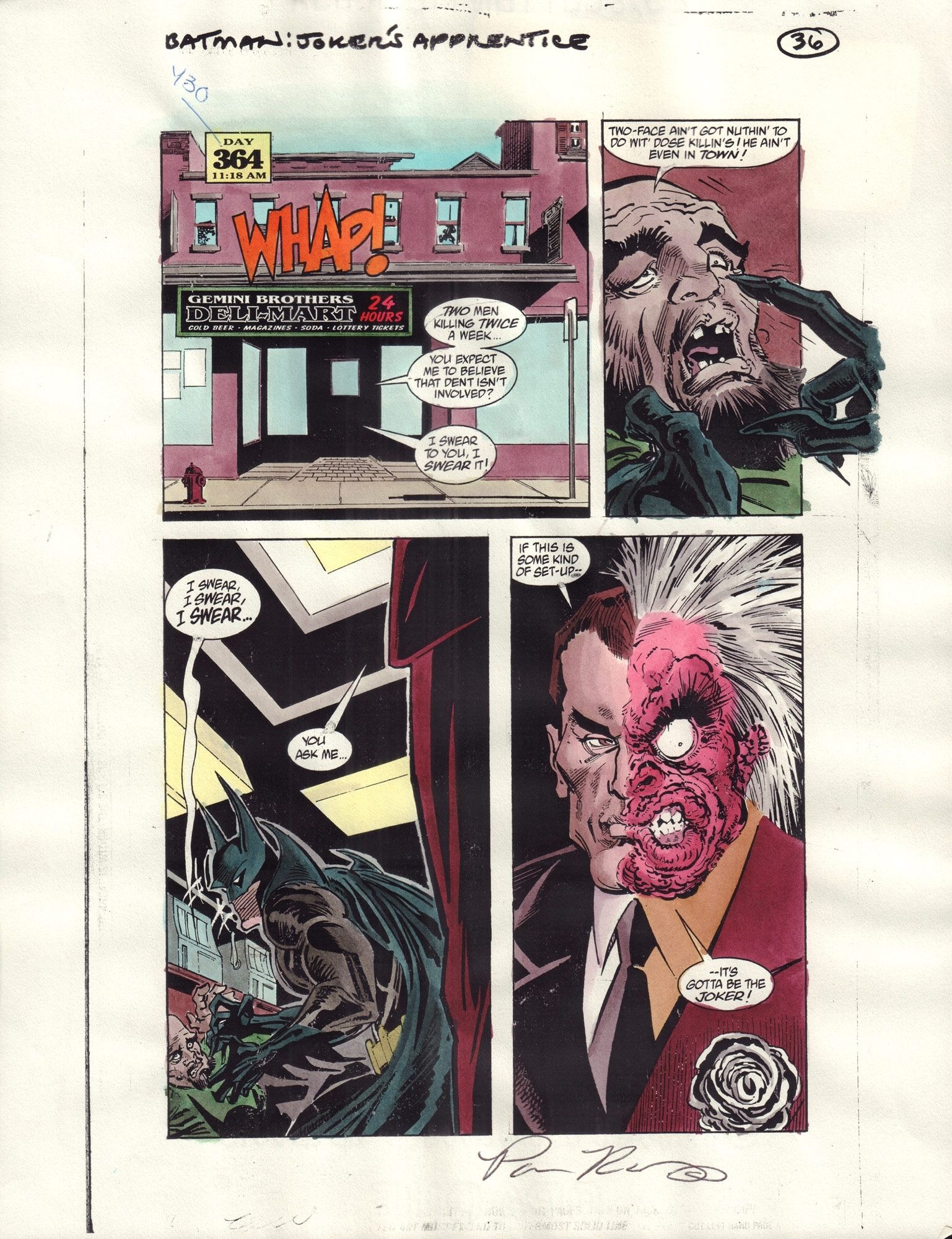 Batman: Joker's Apprentice #1 / 36