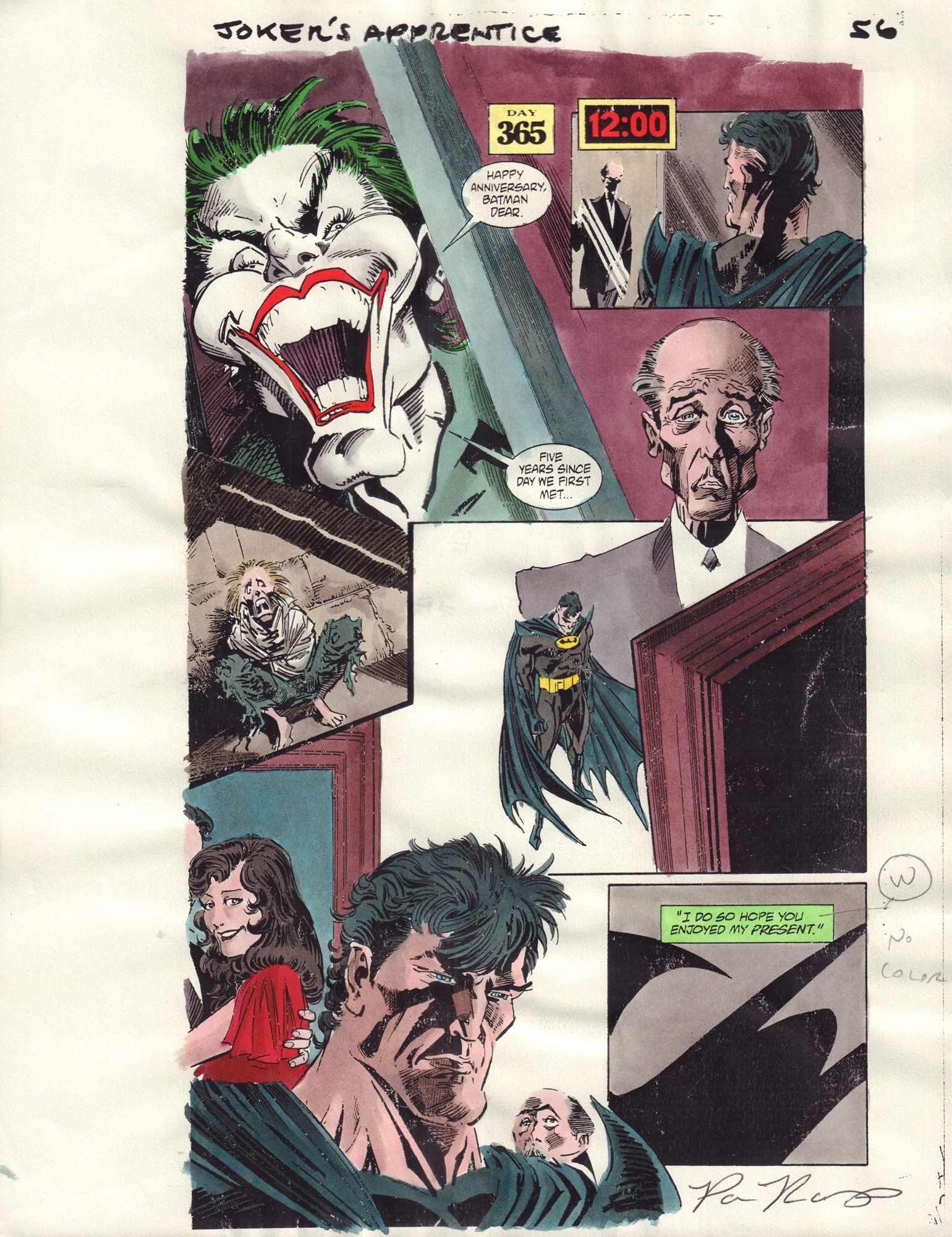 Batman: Joker's Apprentice #1 / 56