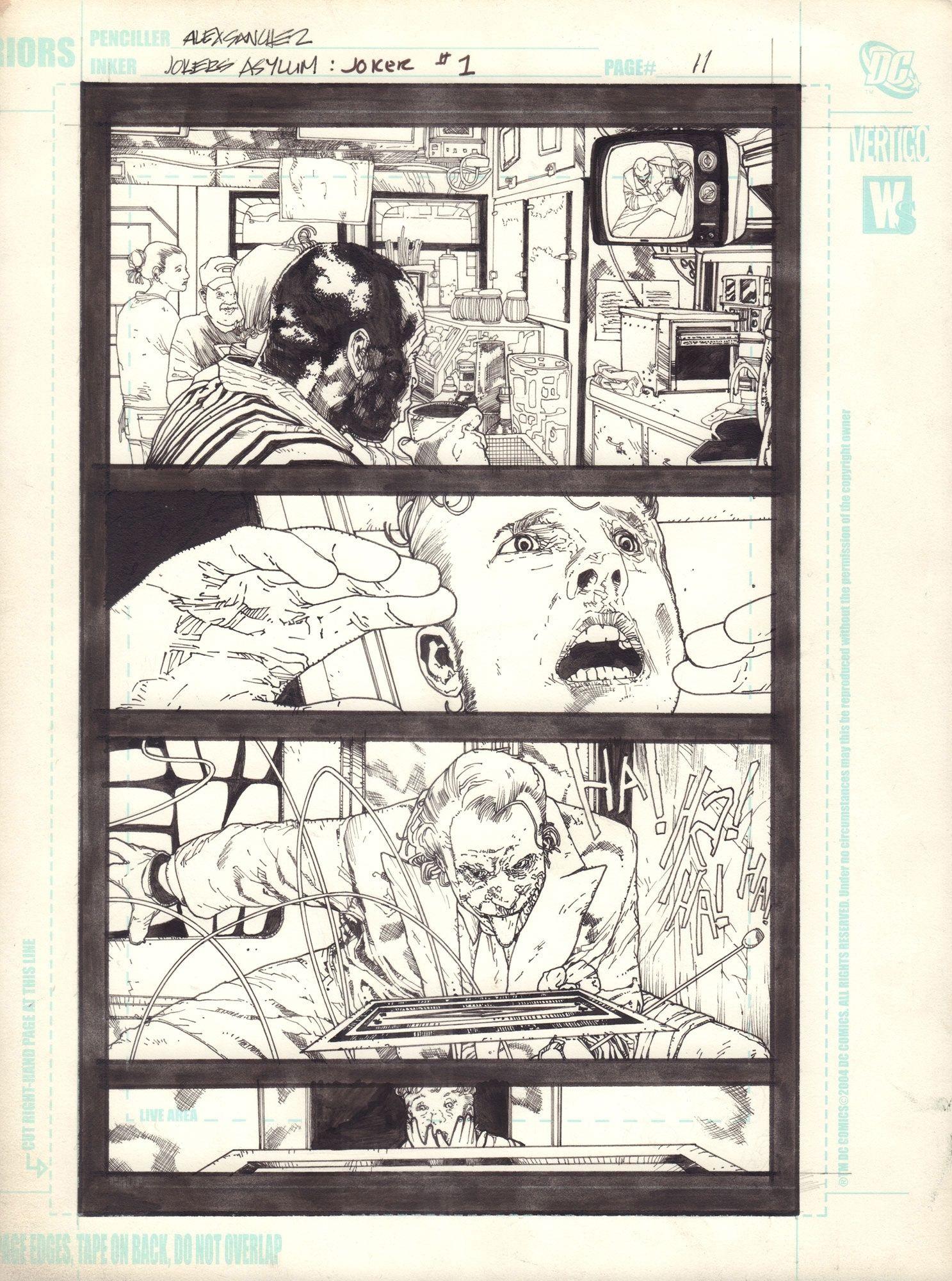 Joker's Asylum: The Joker, s. 11