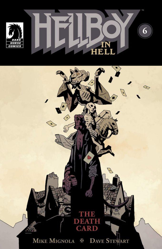 Hellboy in the Hell #6 / 4 czarno-biały