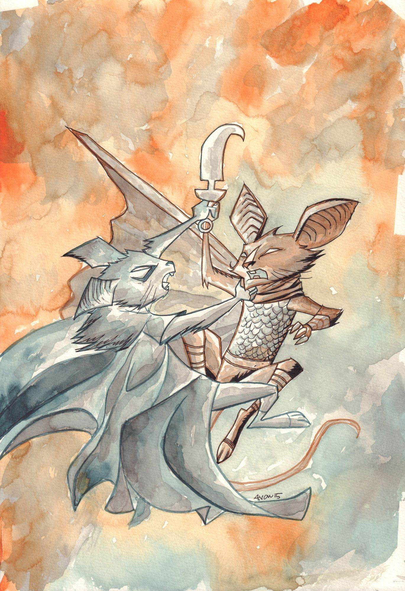 The Mice Templar v. 5: Night' End #4