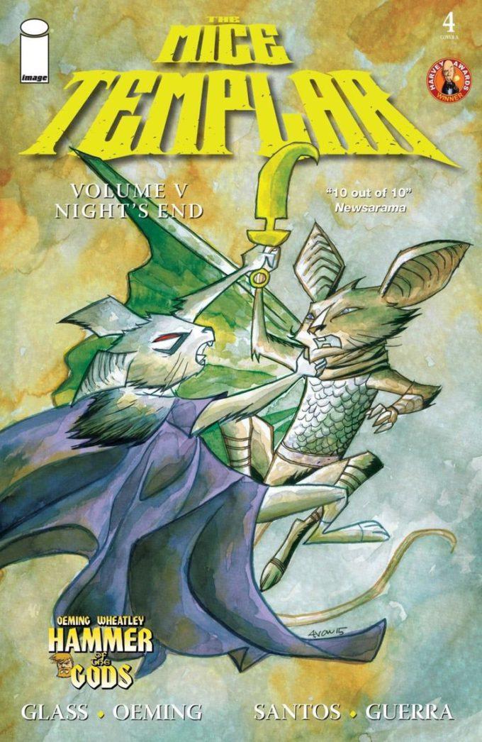The Mice Templar v. 5: Night' End #4 komplet plansz