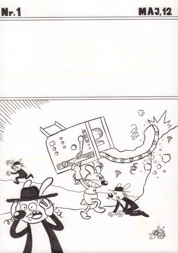 Kapitan Mineta #1 - okładka