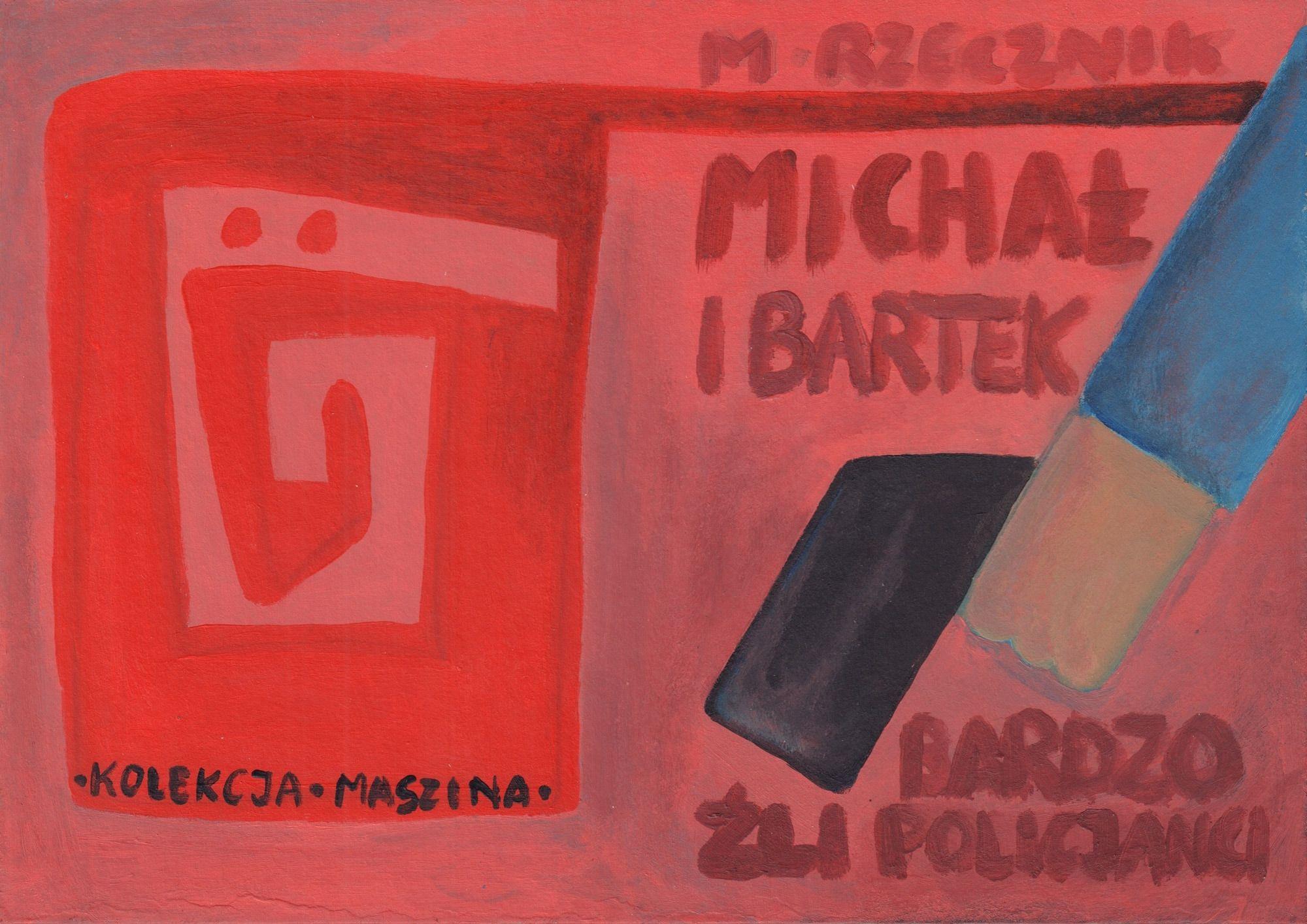 Michał i Bartek. Bardzo źli policjanci - okładka