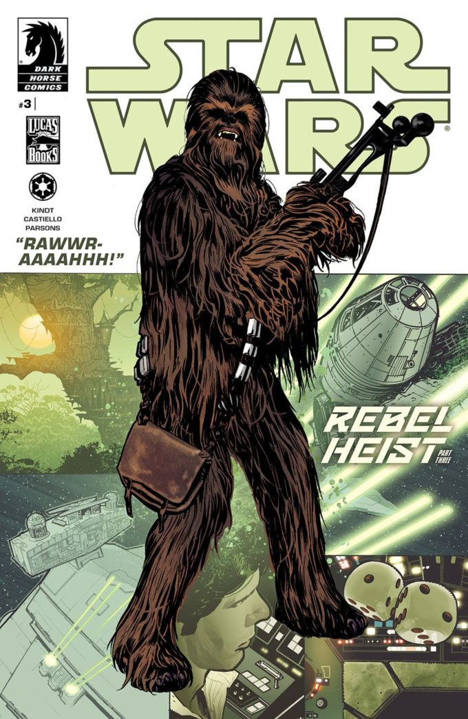 Star Wars: Rebel Heist #3 / 15 czarno-biały