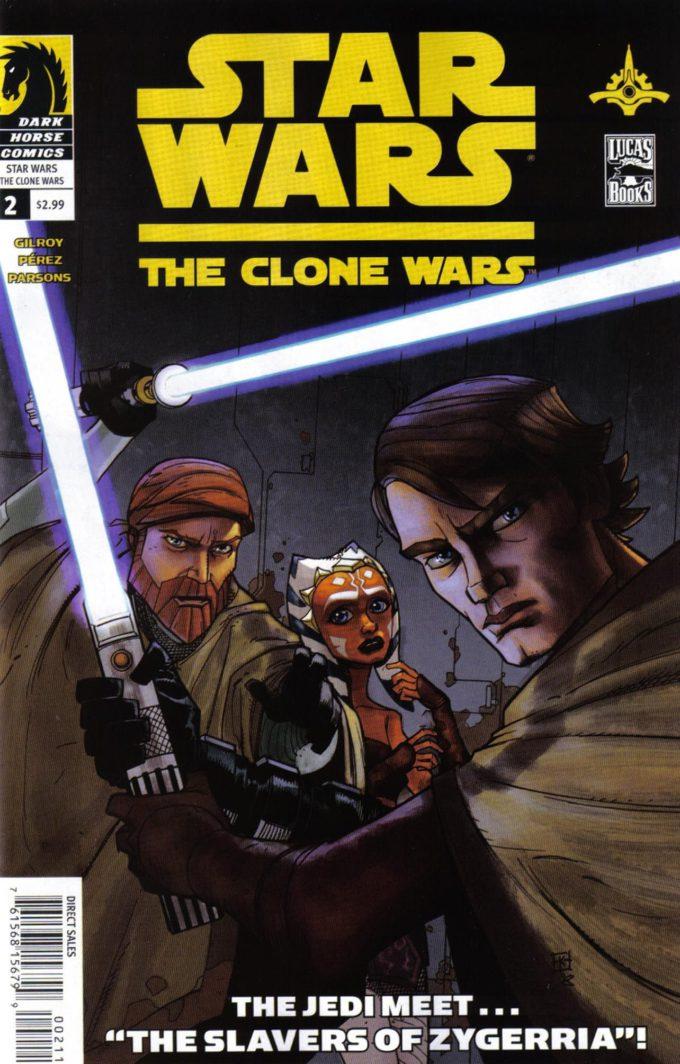 Star Wars: Clone Wars #2/12 czarno-biały
