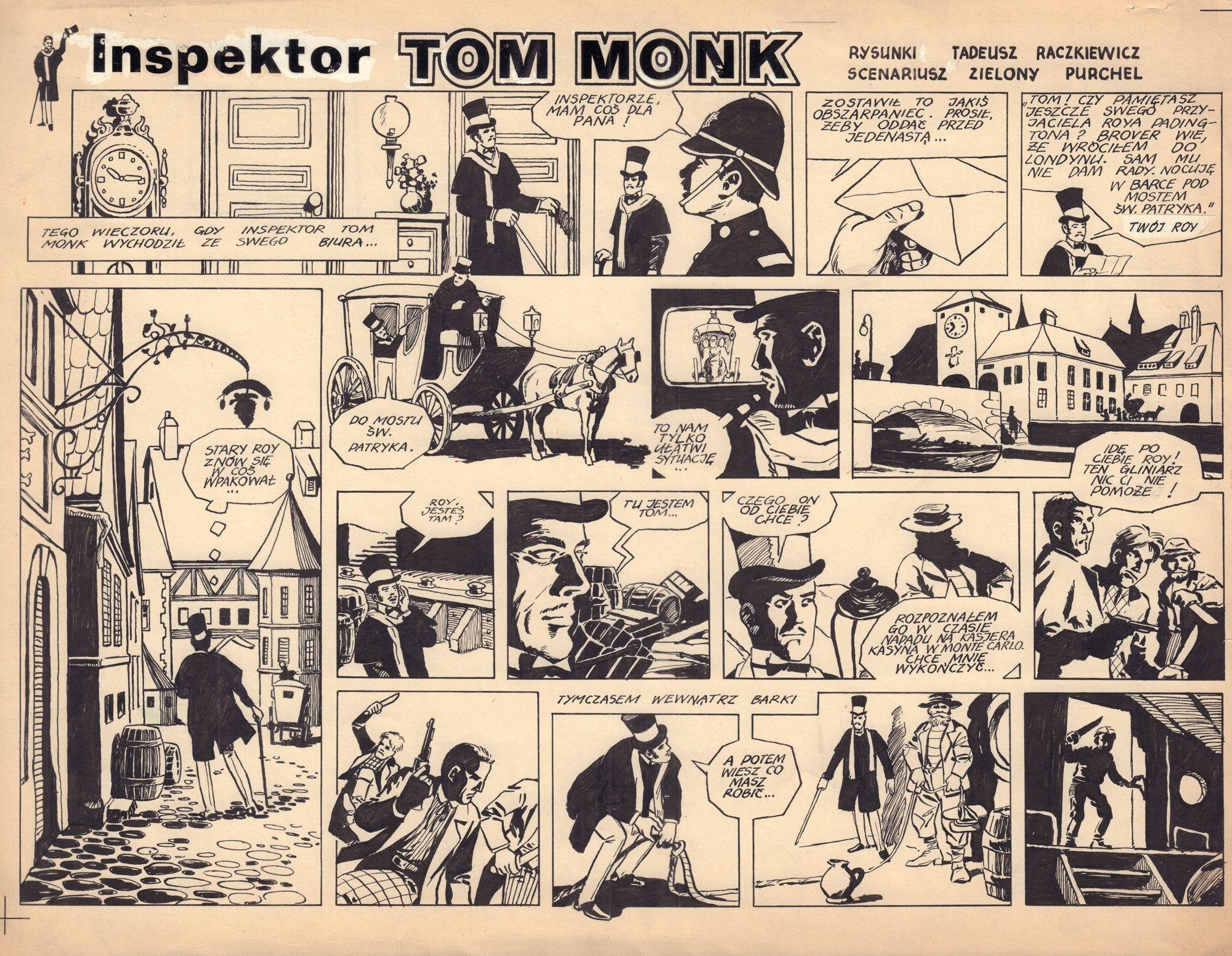 Inspektor Tom Monk - komplet