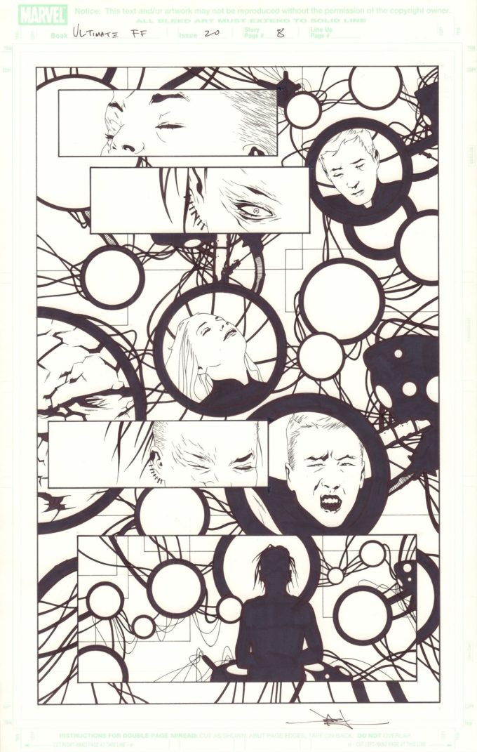 Ultimate Fantastic Four #20 / 8