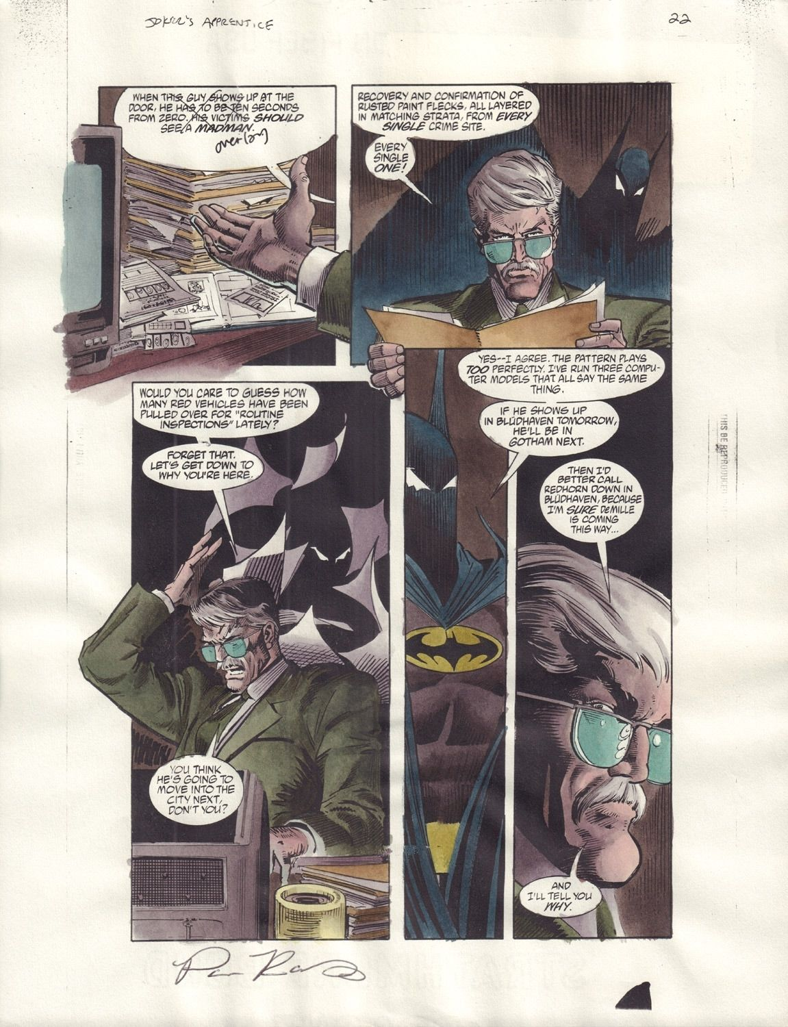 Batman: Joker's Apprentice #1 / 22