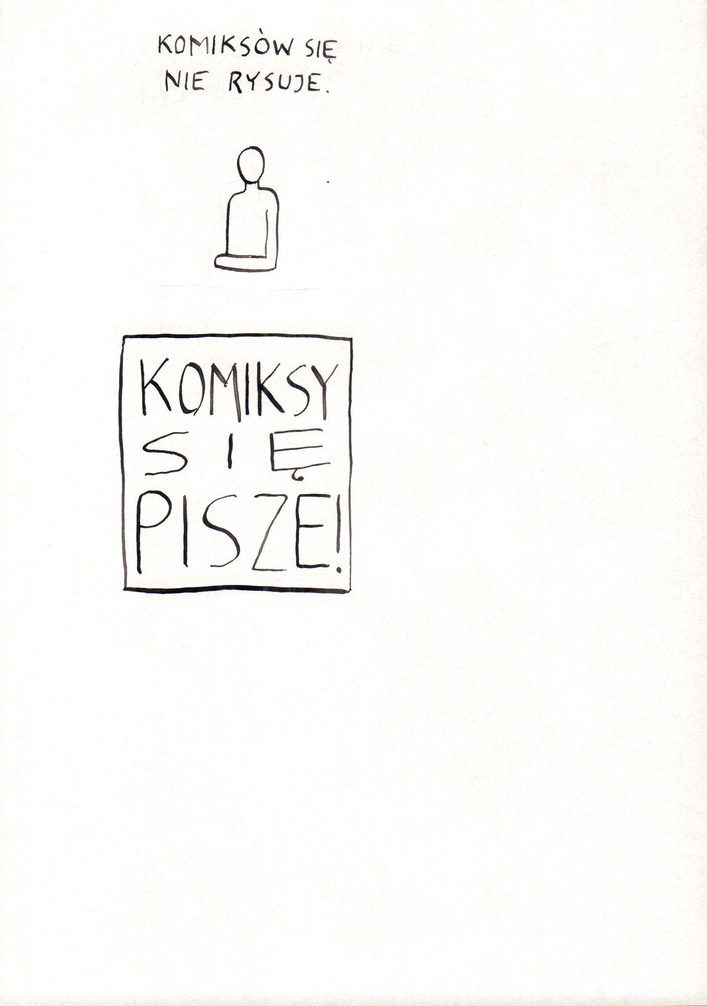 Komiksów się nie rysuje, ZK, s. 5