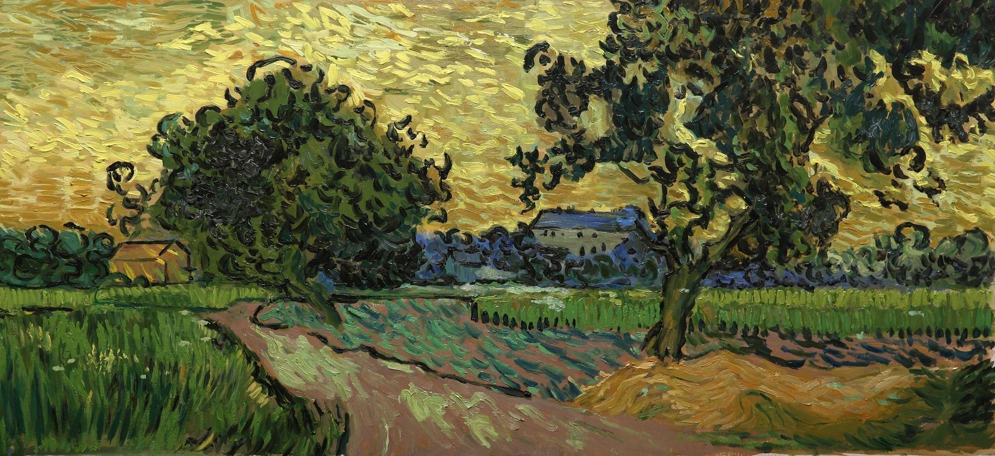 Loving Vincent: Krajobraz po zmierzchu