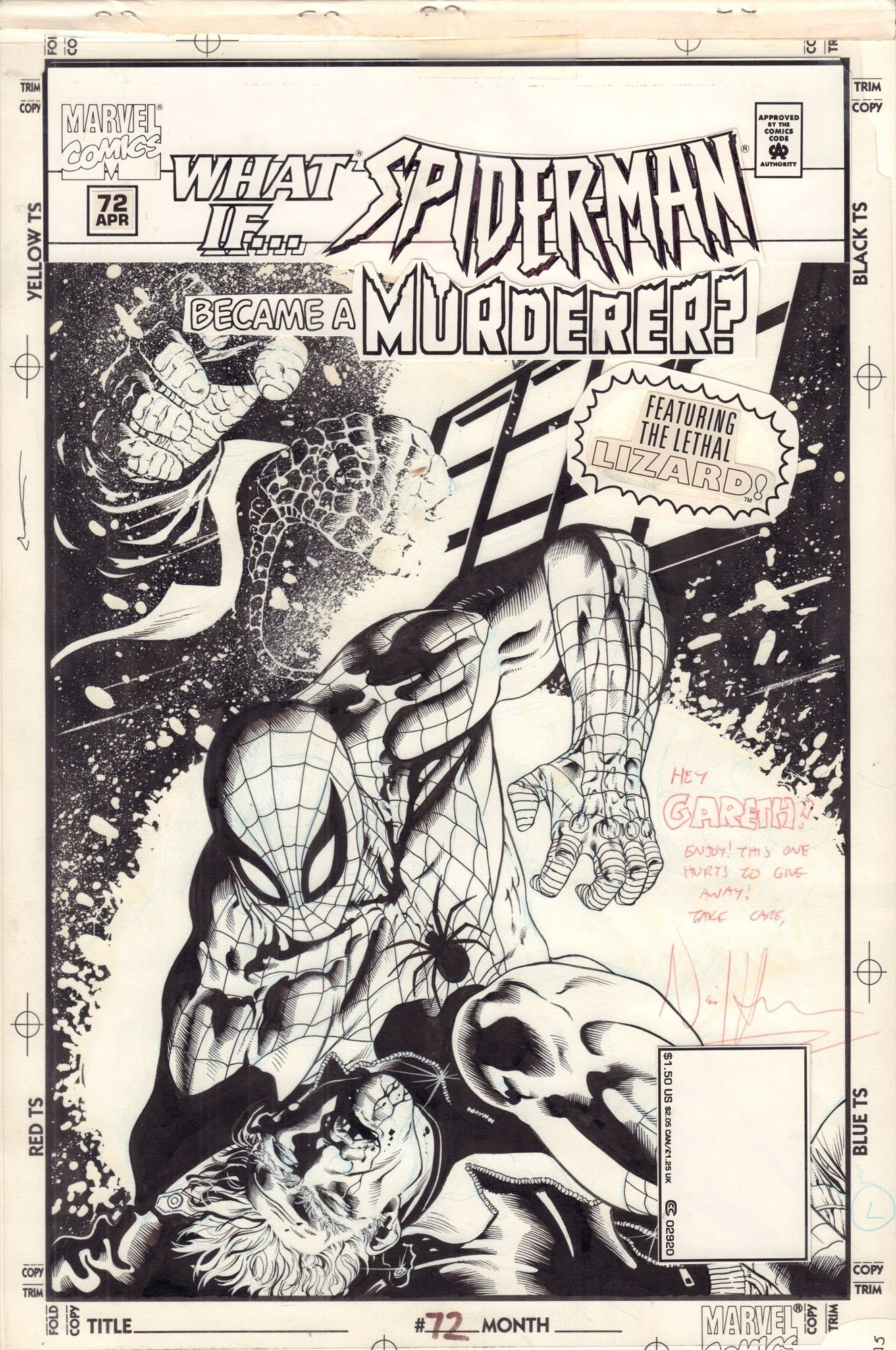 What If? vol 2 #72 Spider-man. Became a Murderer? - okładka