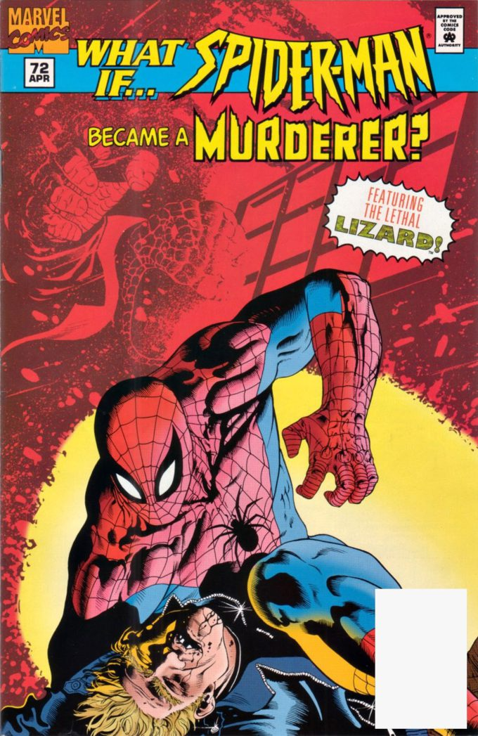 What If? vol 2 #72 Spider-man. Became a Murderer? - okładka czarno-biały