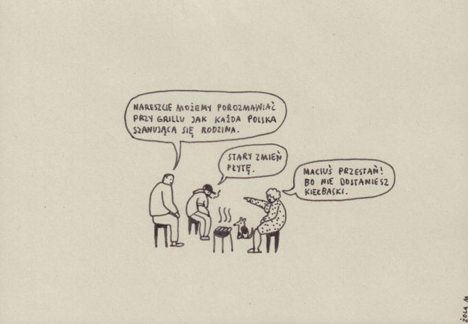 Rozmowy przy grillu