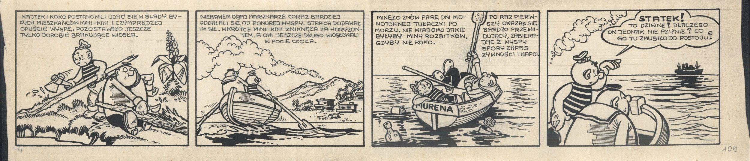 Kajtek i Koko wśród piratów, 104