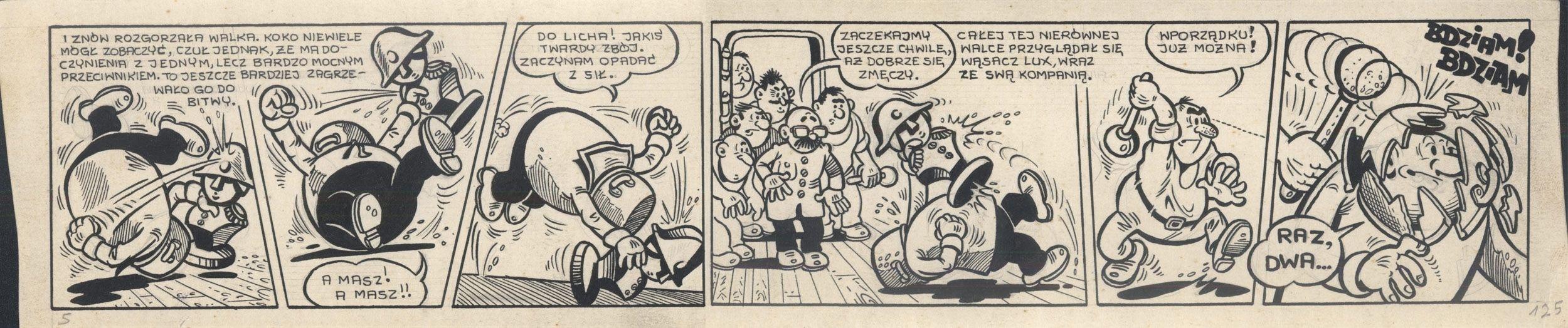 Kajtek i Koko wśród piratów, 125