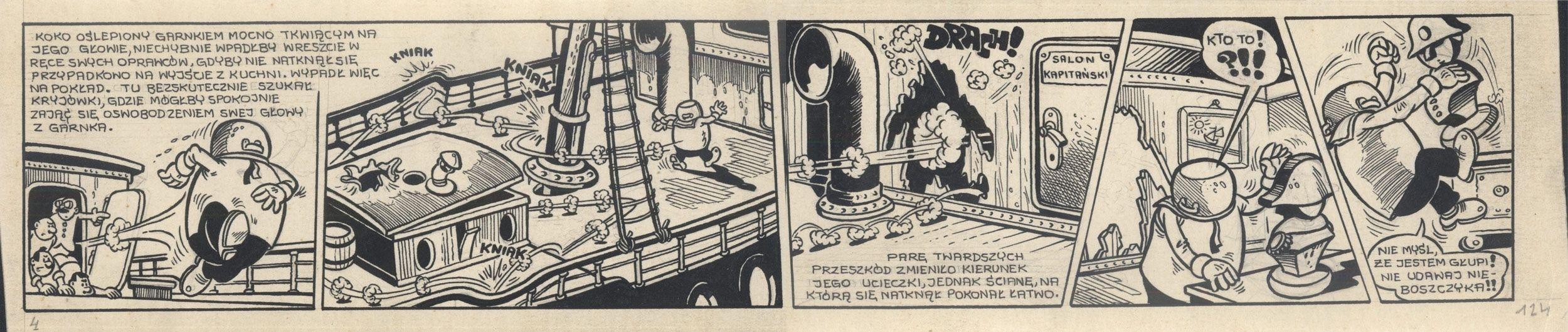 Kajtek i Koko wśród piratów, 124