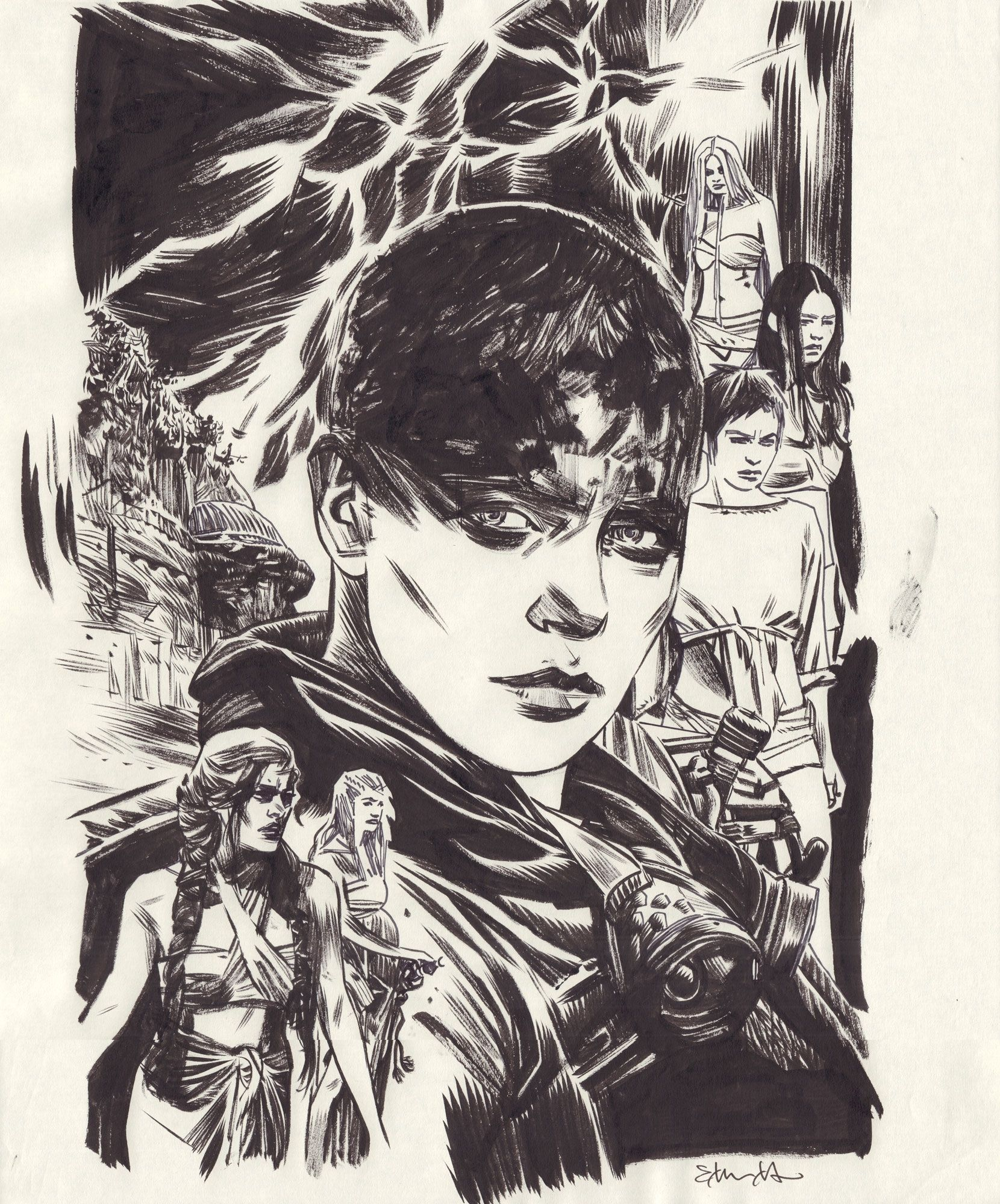 Mad Max: Fury Road: Furiosa #1 - okładka