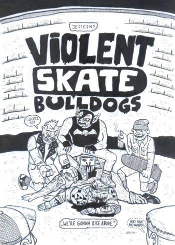 Violent Skate Bulldogs