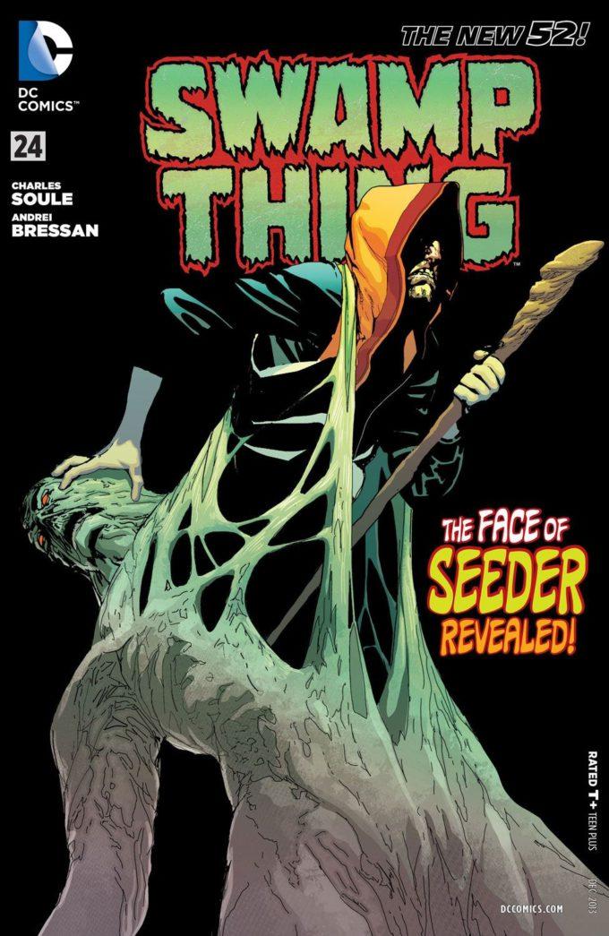 Swamp Thing vol 4 #24 / 5 czarno-biały