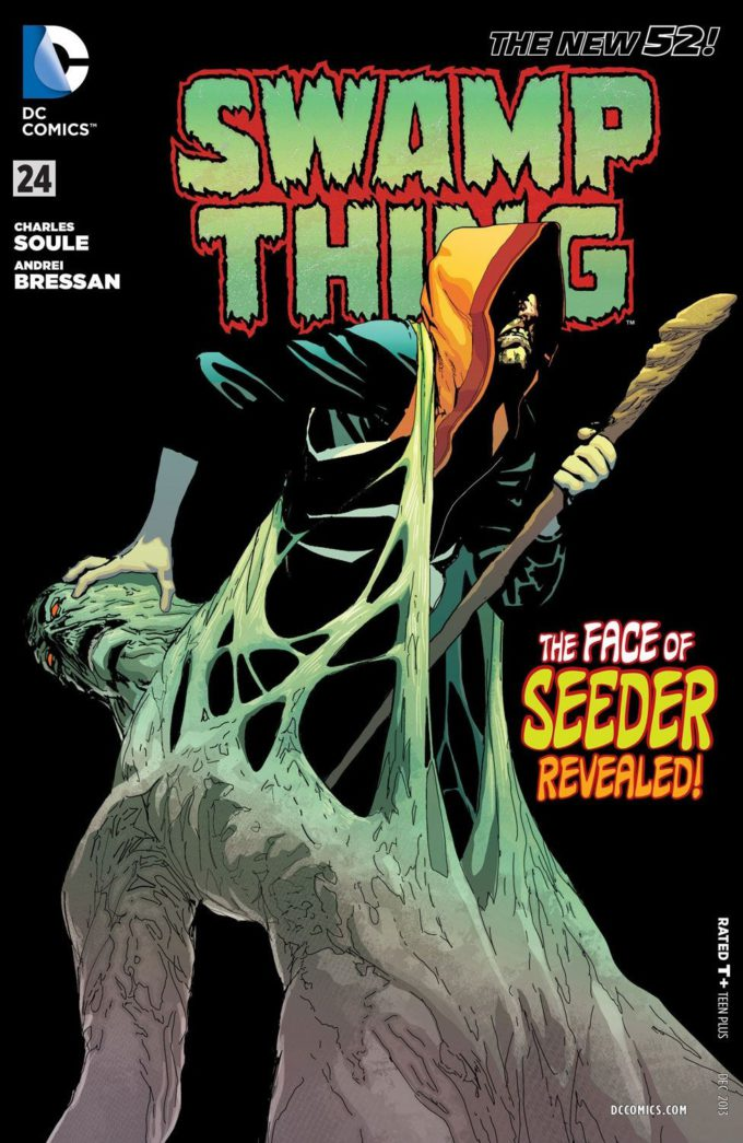 Swamp Thing vol 4 #24 / 9 czarno-biały
