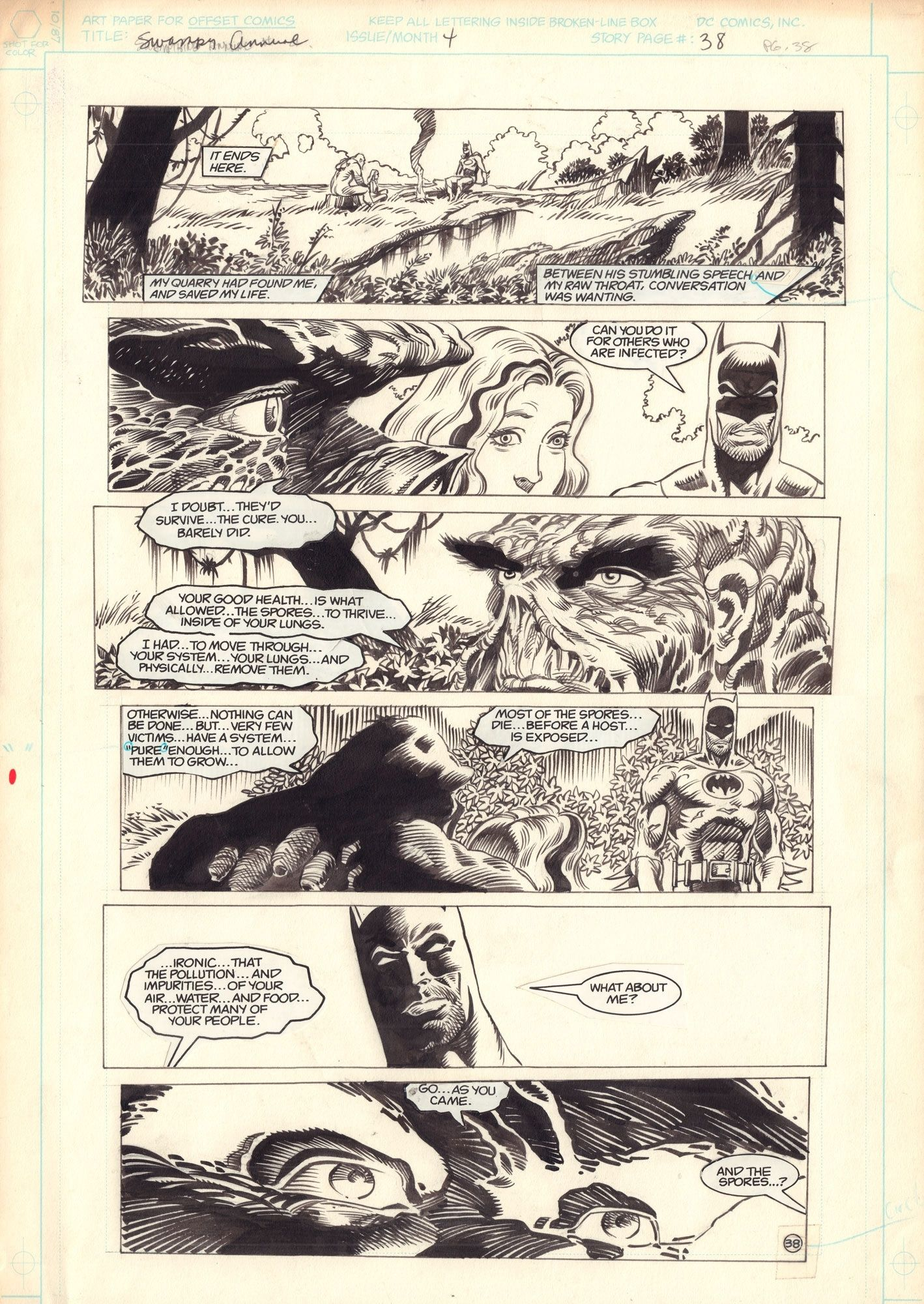 Swamp Thing Annual #4 / 38